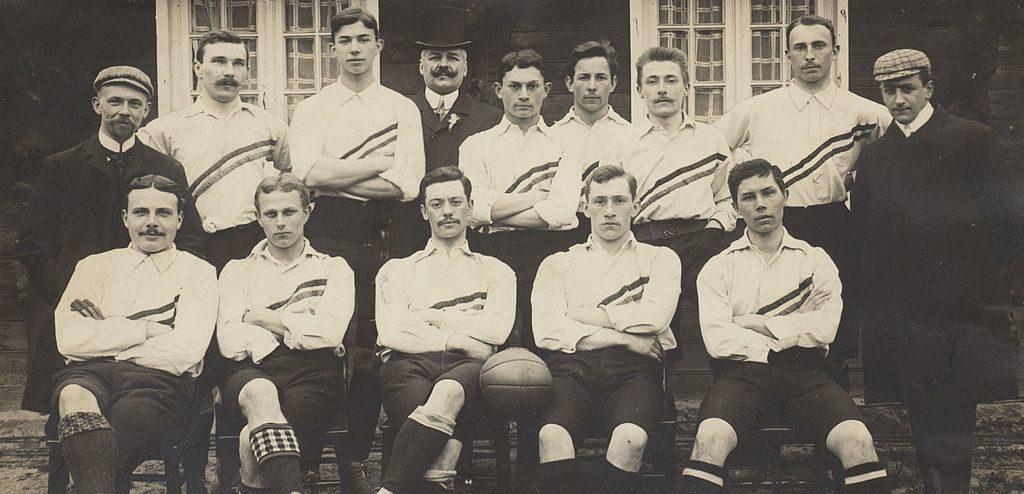 Rein Boomsma. Nederlands_elftal_1905